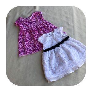 Other - 6/$15 6-9M girls 2 dress bundle